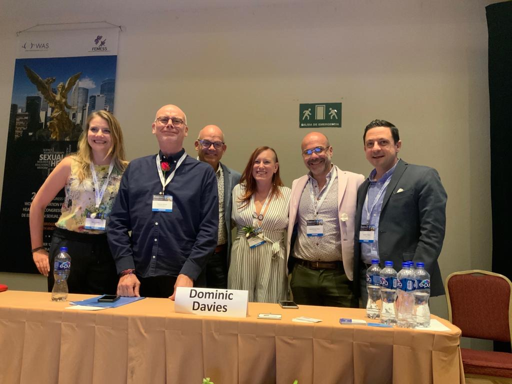 Proud and happy faces after the panel  Left to Right:  Agata Loewe, Dominic Davies, Doug Braun-Harvey, Markie Twist, Miguel Rueda, Antonio Prunas
